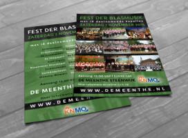 Flyer ontwerp Steenwijk - Fest der Blasmusik