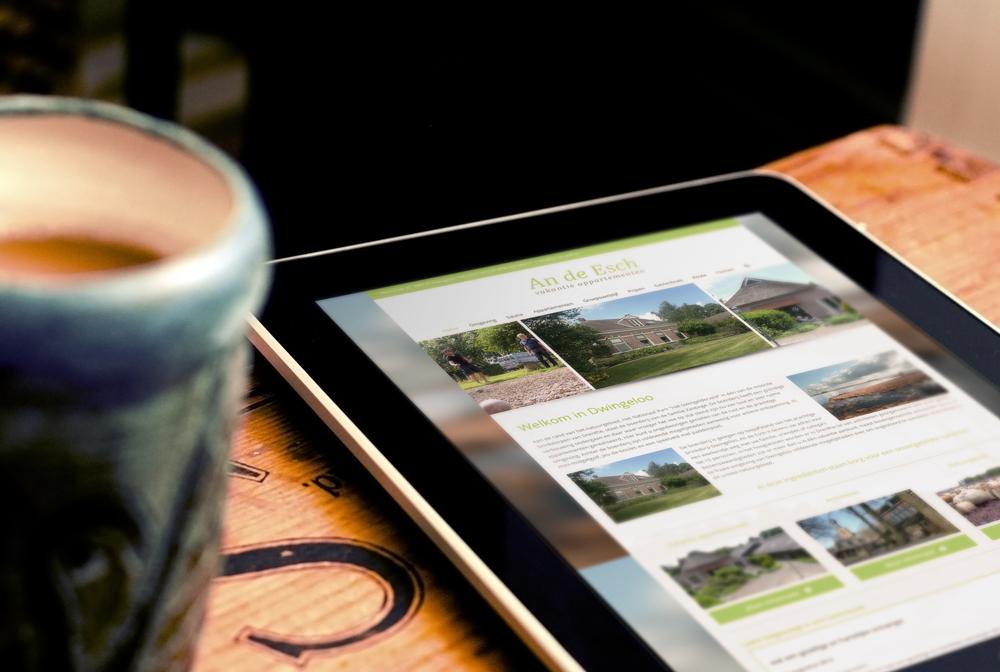 Website ontwerp Steenwijkerland - An de Esch